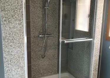 Rénovation d'une douche après infiltration d'eau à Saint Orens