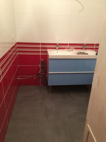 Un projet de rénovation de salle de bain à Toulouse